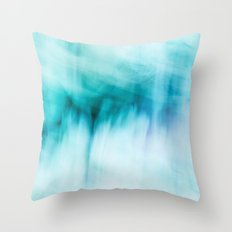 Abstract Waterfall Throw Pillow