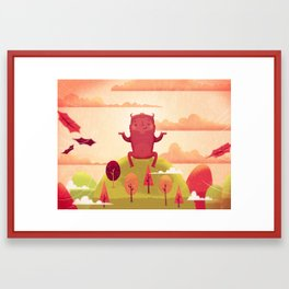 Welcome Autumn! Framed Art Print