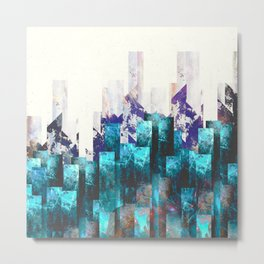 Cold cities Metal Print