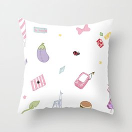 Space Temp Accessories Throw Pillow