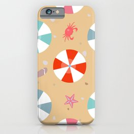 Sand and Crab iPhone Case