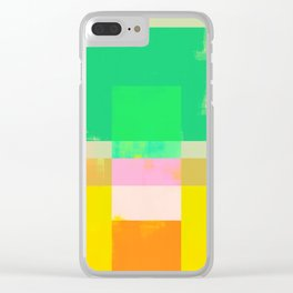 Abstract Geometry No. 9 Clear iPhone Case