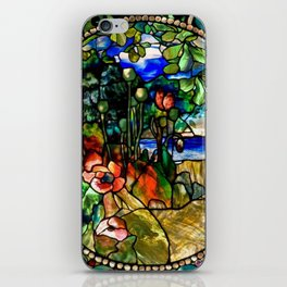 Louis Comfort Tiffany - Decorative stained glass 19. iPhone Skin