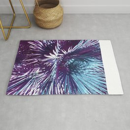 Lost in the wild - Tropical Palm leaves #tropicalart #buyart #Society6 Rug