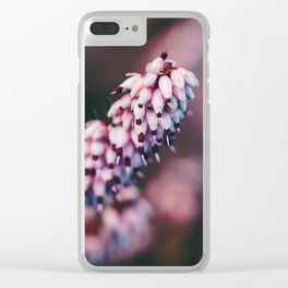 Heather. Clear iPhone Case