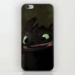 Toothless Grin iPhone Skin