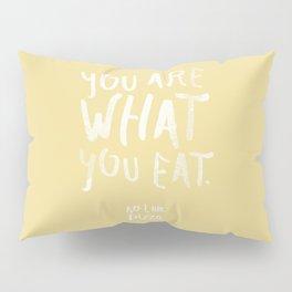Pizza — Poster, scandinavian, art print, drawings, paintings, type, illustration, motivation, veggy  Pillow Sham