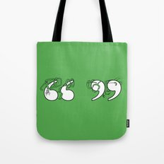 Smart Quotes Tote Bag