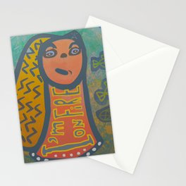 Atlantis Icon / I'm on Fire! Stationery Cards