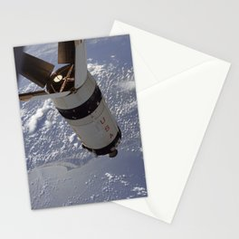 Apollo 7 - Saturn V over Cape Canaveral Stationery Cards
