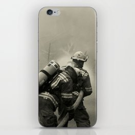 Fire Fighters iPhone Skin