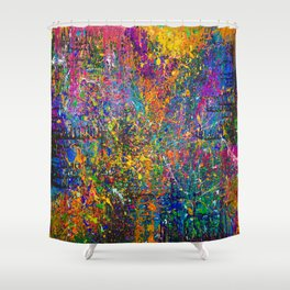 LIVE FULLY! Shower Curtain