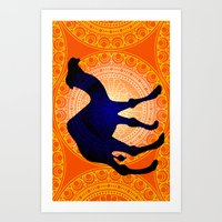 camel Art Prints featuring Camel by Katherine Marshall