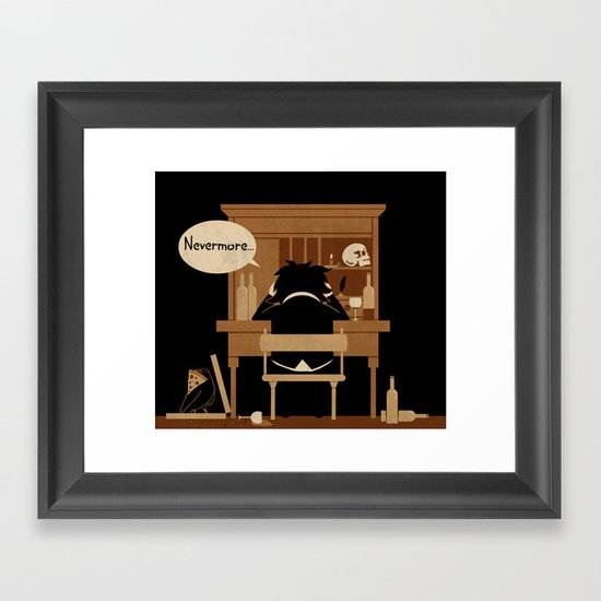 The Hangover Framed Art Print