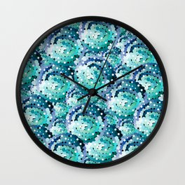Ocean Water Wall Clock