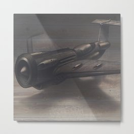 Old airplane 3 Metal Print