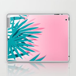 Dissed - memphis retro vintage neon pink pastel ombre trendy girl gift for hipster urban beach goer Laptop & iPad Skin