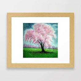 Blossom splendor Framed Art Print