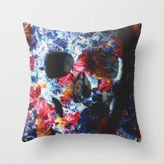 Skull (light version) Throw Pillow