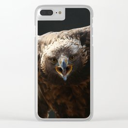 Just try me Clear iPhone Case