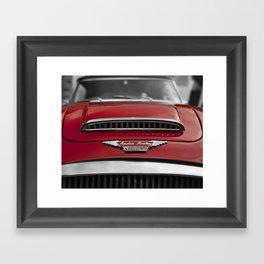 Austin Healey Mark Three Framed Art Print