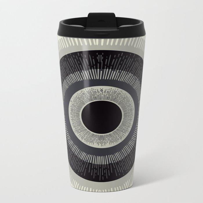 Eye Just Can't Metal Travel Mug