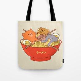 Ramen cats Tote Bag