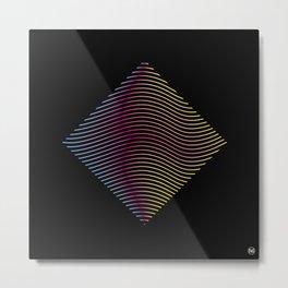 LinesIV/ Metal Print