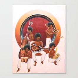 Funk Band Canvas Print
