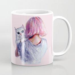 Pink Cuddles Coffee Mug