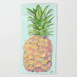 Mint Brite Pineapple Beach Towel