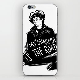 My Dharma is the Road iPhone Skin