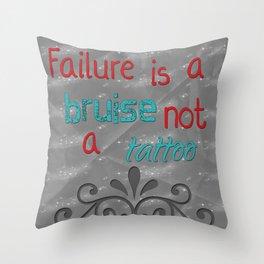 Failure Throw Pillow