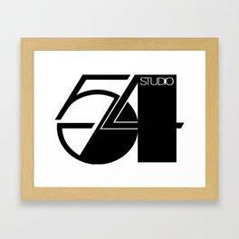 Studio 54 Art Print, Black White Poster, Art Prints, Fashion Print, Minimalist Print, Modern Art, Mi Framed Art Print