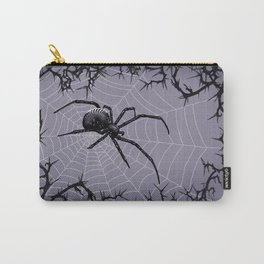 Briar Web - Gray Carry-All Pouch