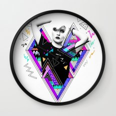 Heart Of Glass - Kris Tate x Ruben Ireland Wall Clock
