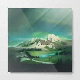 Alpine Enchantment Metal Print