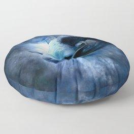 Ram in the Stars (Aries) Floor Pillow