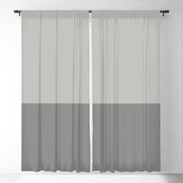 Benjamin Moore 2019 Color of Year Metropolitan AF-690 and Cinder Dark Gray Af-705 Horizontal Stripes Blackout Curtain