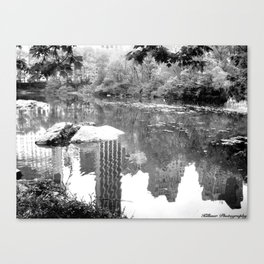 Jungle City Canvas Print