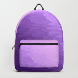 Lavender Texture Ombre Backpack