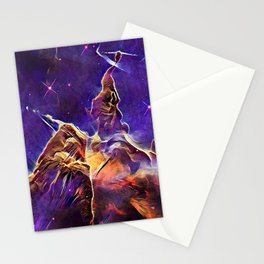 ALTERED Hubble Mystic Mountain- Carina Nebula Stationery Cards