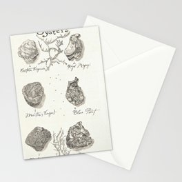 Oysters Stationery Cards