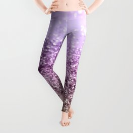 Unicorn Girls Glitter #13 #shiny #decor #art #society6 Leggings