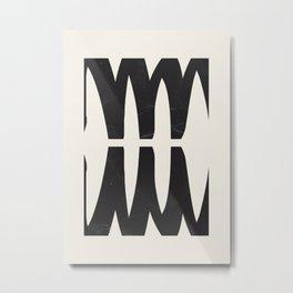 abstract minimal 56 Metal Print