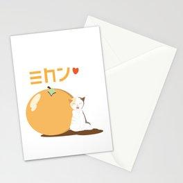 Orange (Mikan) Stationery Cards