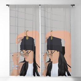 Rockin the Shades and Beanie Blackout Curtain