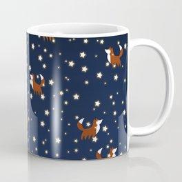 Foxes and stars pattern Coffee Mug