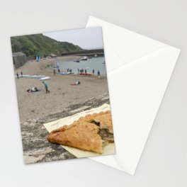 Polkerris Pasty Stationery Cards