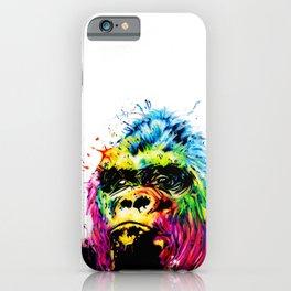 Rainbow Gorilla iPhone Case